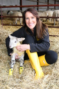 Stephanie and Lamb