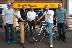 Limavady's Cycling Farmers are Tickled Pink to join the Gran Fondo